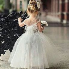 Cute bridesmaid dresses for little girls ideas 90